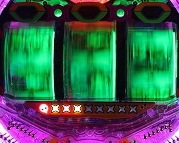 バックライト・緑
