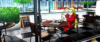 喫茶店ステージ
