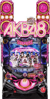CR AKB48 誇りの丘 筐体画像