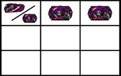 上段紫揃い