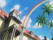 城戸邸+虹