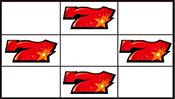 赤7狙いリーチ目3