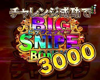 BIG SNIPE3000チャレンジ