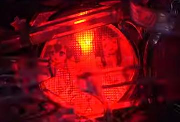 三巫女ランプ
