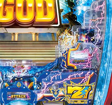 Pアナザーゴッドポセイドン-怒濤の神撃-‗止め打ち
