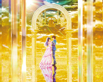 GOLD WEDDING背景