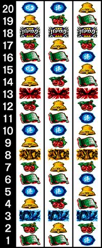 バジリスク3・リール配列