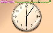 時計が6:06分