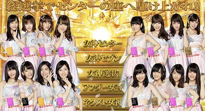 ぱちスロAKB48 勝利の女神・TOP