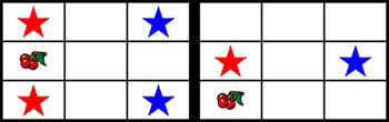 チェリー付きボーナス対角型