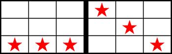 カエル・7一直線